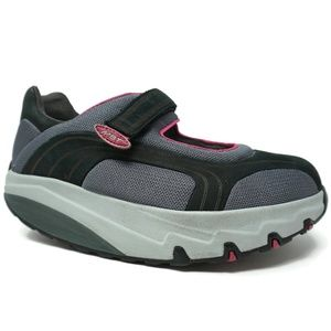 MBT Womens Platform Rocker Sneakers Shoes 38.5
